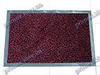 Коврик грязезащитный Гепард, 90х150см., красный