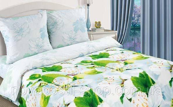 Ткань для постельного белья, поплин Цветущий май