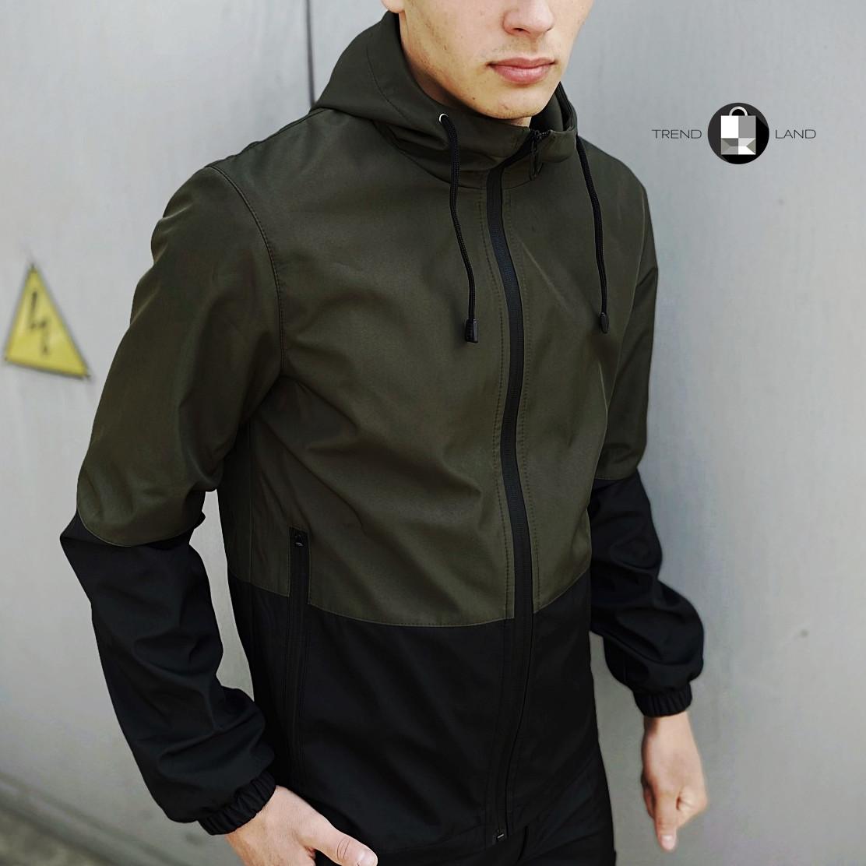"Размеры S-3XL   Мужская куртка ветровка Softshell ""Light"" Khaki Хаки"