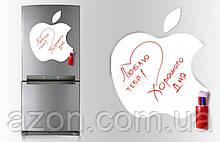 Магнітна дошка для маркера Apple 40*43см.