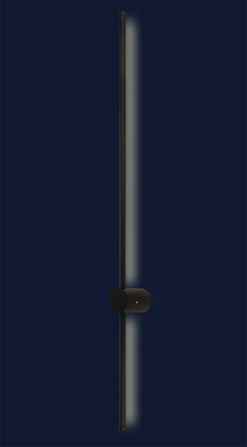 Современный декоративный настенный светильник 761L174 BK