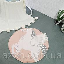 Ковдра килимок в дитячу кімнату Єдиноріг