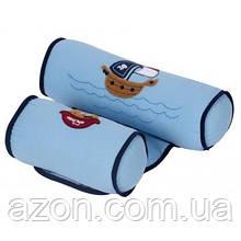 Пеленальний матрацик Sevi Bebe валик -позиціонер для сну, синій (8692241433109)