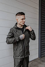 "Размеры S-3XL   Мужская куртка ветровка Softshell ""Light"" Khaki Хаки, фото 3"