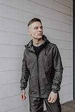 "Размеры S-3XL   Мужская куртка ветровка Softshell ""Light"" Khaki Хаки, фото 2"