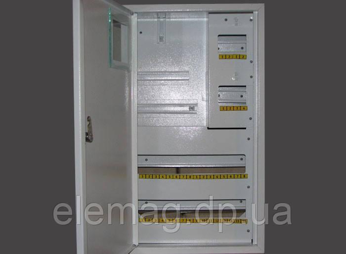 Шафа під електронний лічильник + 36 автомата накладної
