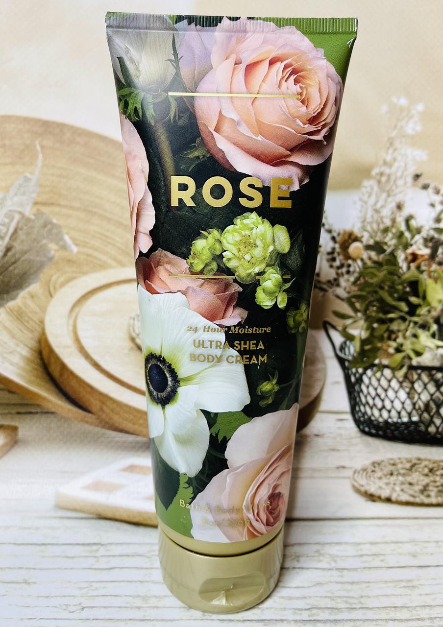 Увлажняющий крем для тела Bath and Body Works Роза