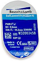 Контактные линзы Bausch&Lomb SofLens59 (BC=8.6, DIA=14.2) 1 линза