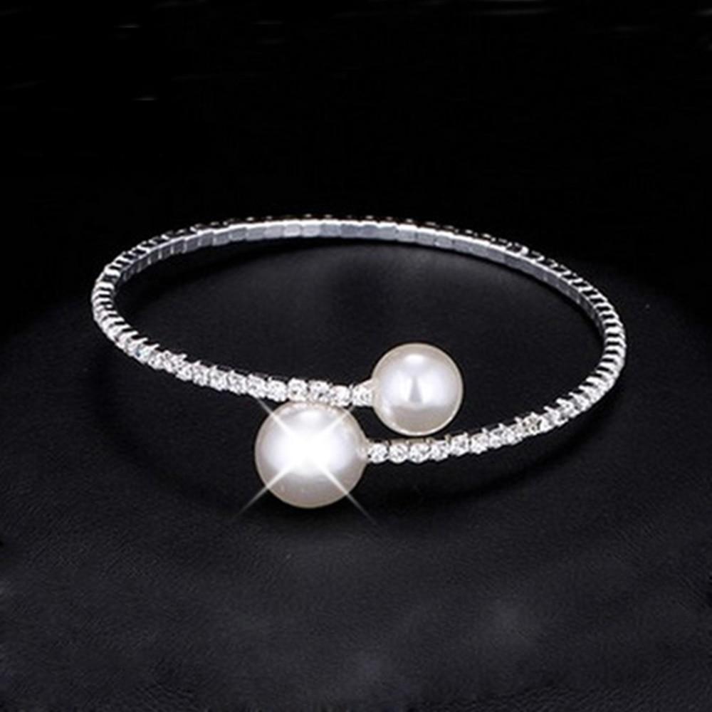 Модный женский браслет с жемчугом код 2113