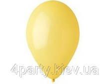 """Воздушный шар пастель желто-горячий 12"""" 1102-0301"""