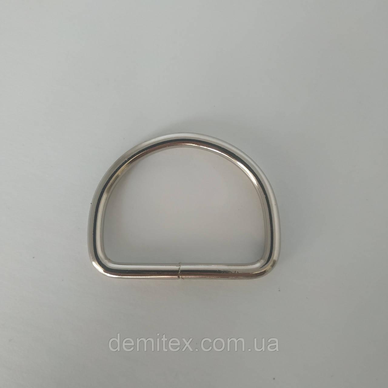 Півкільце нікель 40х30х4мм