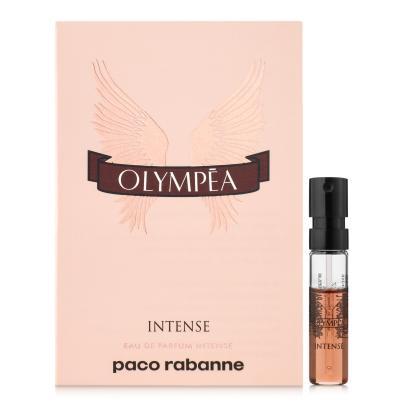 Популярний жіночий аромат Пако Рабан Paco Rabanne Olympea Intense 1,5ml , оригінальний ПРОБНИК Олімпія Інтенс