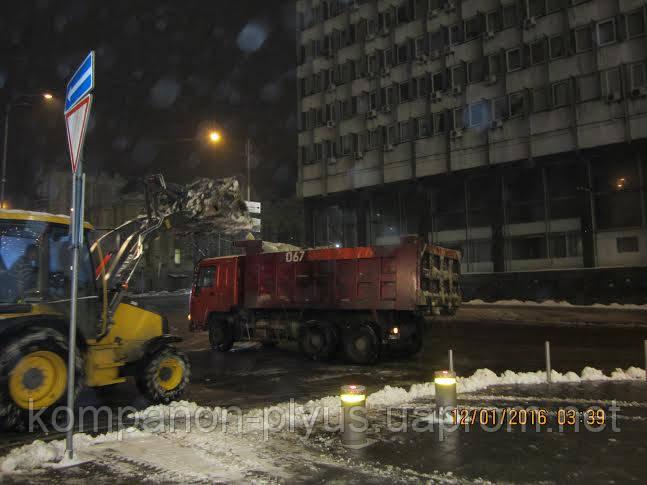 Машинная уборка снега
