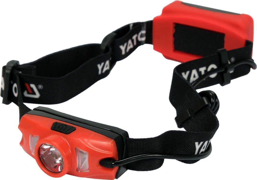 Налобный аккумуляторный фонарь 500 лм YATO YT-08596