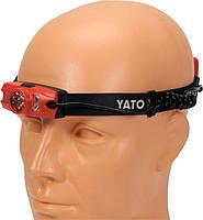 Налобный аккумуляторный фонарь 500 лм YATO YT-08596, фото 3