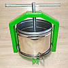 Пресс Полтава-10Л S&K Mechanics - для отжима сока из яблок, винограда, ручной винтовой, нержавейка