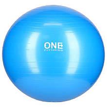 Мяч для фитнеса GB10 One Fitness 75см, синий
