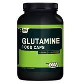 Глютамин Optimum Nutrition Glutamine 1000  240- капс. Восстанавливает мышечную ткань,повышает чувствительность