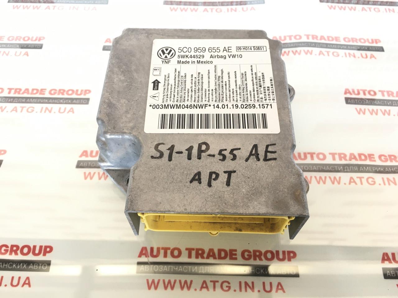 Блок управления подушек AIR BAG VW Passat B7 2012-2015 5C0-959-655-AE-0P3