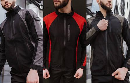 Розміри S-2XL | Чоловіча куртка вітровка Intruder Softshell Light 'iForce', фото 2