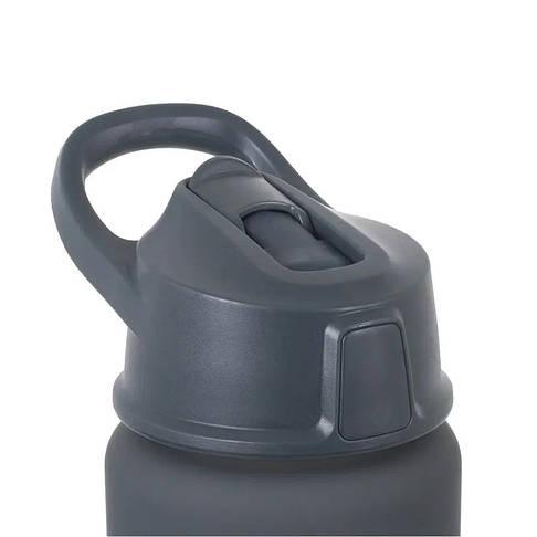 Термофляга Lifeventure Flip-Top Bottle 750 мл Серый, фото 2