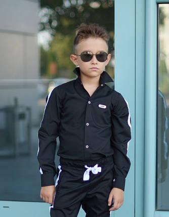 """Стильная детская рубашка для мальчика """"Fashion"""" с длинным рукавом, фото 2"""