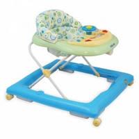 Детские ходунки Alexis-Babymix BG-1601, цвет blue-green