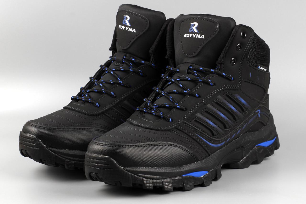 Ботинки унисекс черные Royyna 019L-2-6 женские Ройна Бона Bona Размеры 36 37 38 39 41
