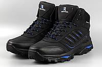 Ботинки унисекс черные Royyna 019L-2-6 женские Ройна Бона Bona Размеры 36 37 38 39 41, фото 1