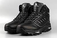 Ботинки мужские черные Royyna 019C-6 Ройна Бона Bona Размеры 41 42 43 44 45, фото 1