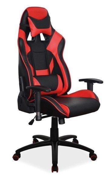 Комп'ютерне крісло SUPRA Signal Червоний