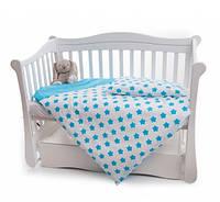 Змінна ліжко 2 ел Twins Premium Зірочка блакитний