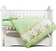 Змінна постіль 3 ел Twins Comfort Медун зелені
