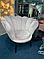 Кресло MAGNOLIA Velvet 1 Venge Signal Серый **, фото 2