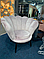 Крісло MAGNOLIA Velvet 1 Venge Signal Сірий **, фото 2