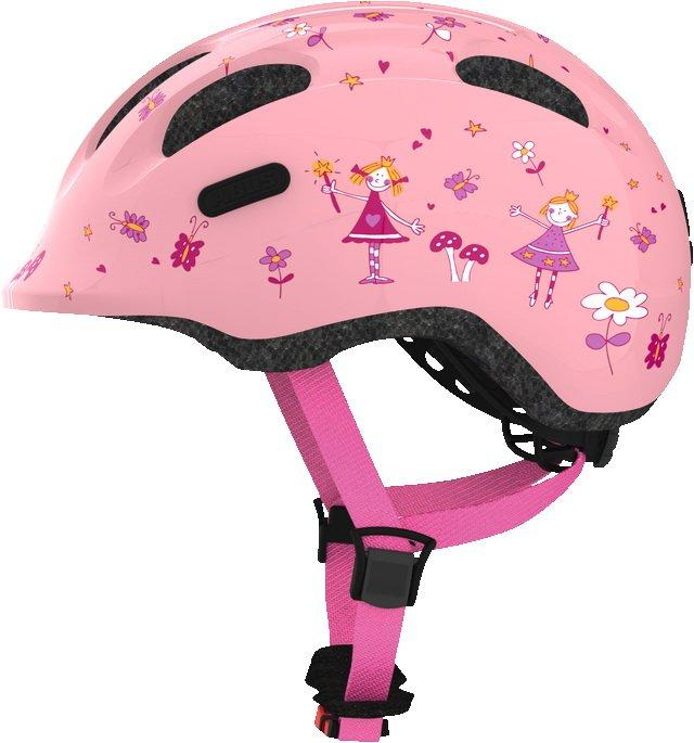 Велосипедный детский шлем ABUS SMILEY 2.0 M 50-55 Rose Princess