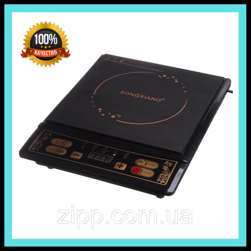 Індукційна електроплитка SONG XIANG 2200 Вт (08-SX)  Електроплити SONG XIANG  Електрична плита