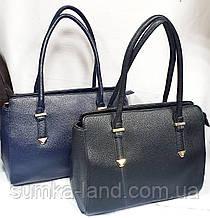 Жіночі повсякденні сумки на блискавці з довгими ручками на плече 34*25 см