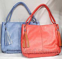 Жіночі повсякденні сумки на блискавці з ручкою на плече 34*28 см