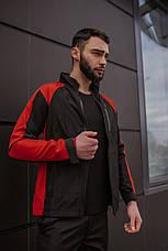 Розміри S-2XL | Чоловіча куртка вітровка Intruder Softshell Light 'iForce' Red Червона, фото 3
