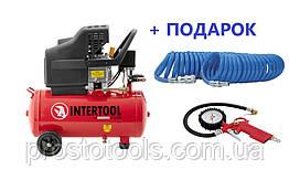 Компрессор 24 литра Intertool PT-0009