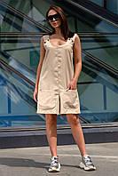 Короткий летний комбинезон Гавана 42-52 размер разные цвета