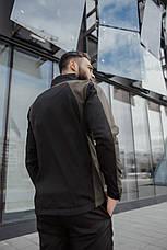 Розміри S-2XL   Чоловіча куртка вітровка Intruder Softshell Light 'iForce' Khaki Хакі, фото 2