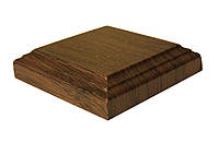 Розетка ПВХ квадратная орех, комплект