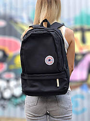 Cпортивный рюкзак Converse all star (черный) крутой водонепроницаемый 124
