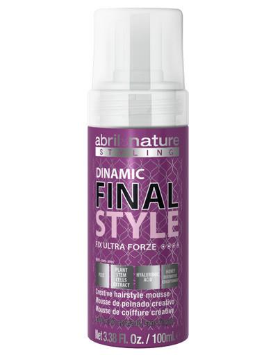 Мус для укладання надсильної фіксації Abril et Nature Advanced Dinamic Styl Ultra Forze