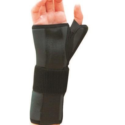 Шина-бандаж неопреновая для фиксации лучезапястного сустава и первого пальца (левая-правая) - Ersamed REF-602