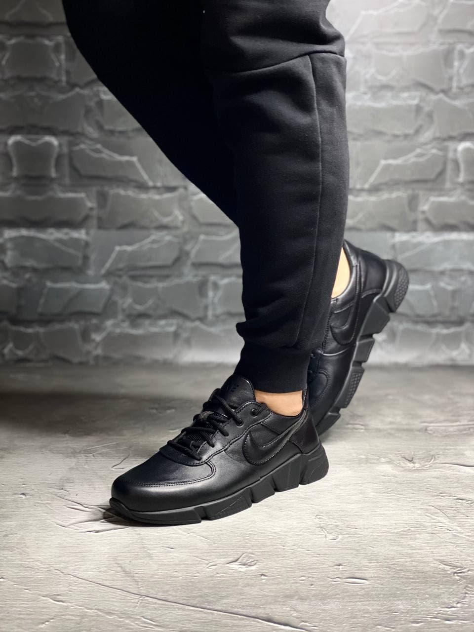 НК-7 кроссовки черные