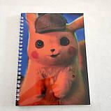 """Набір """"Pikachu"""": щоденник, пенал, скетчбук, фото 4"""