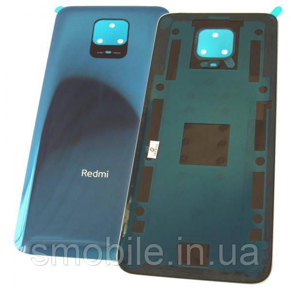 Скло задньої кришки Xiaomi Redmi Note 9S синього кольору (оригінал Китай)